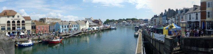 Dorset seafood festival panorama